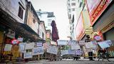 Độc lạ cách bán hàng mùa dịch chưa từng có tại khu chợ nhà giàu Hà Nội
