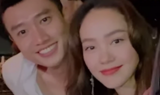 Quốc Trường và Minh Hằng lộ ảnh hẹn hò, cử chỉ ôm ấp thân mật công khai trước mặt hội bạn thân
