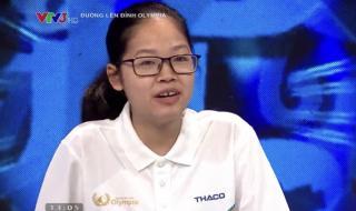 Nữ sinh Hà Nội san bằng kỷ lục sau 21 năm Đường lên đỉnh Olympia
