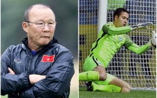 Thầy Park vẫn chờ thủ tục nhập tịch của thủ môn 1 triệu euro